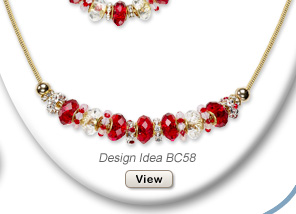 Design Idea BC58 Necklace and Earring Set