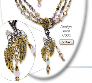 Design Idea C335 Necklace and Earring Set