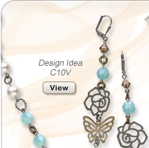 Design Idea C10V Necklace and Earrings