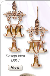 Design Idea D818 Earrings