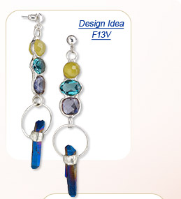 Design Idea F13V Necklace and Earrings