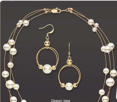 Design Idea B30S Necklace and Earrings