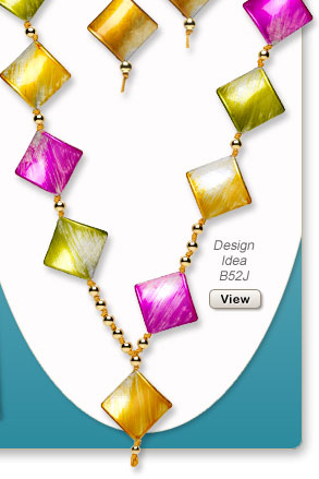 Design Idea B52J Necklace and Earrings