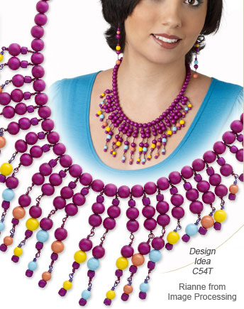 Design Idea C54 Necklace and Earrings