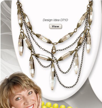 Design Idea D71D Necklace and Earrings
