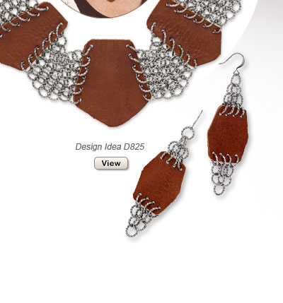 Design Idea D825 Necklace and Earrings