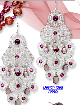 Design Idea B55Q Earrings
