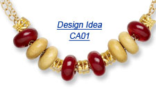 Design Idea CA01 Necklace and Earring Set