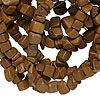 "Bead, tigerskin ""jasper"" (natural), small chip, Mohs hardness 4 to 5. Sold per 34-inch strand."