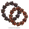 Bracelet, stretch, resin, brown, 18x16mm double-sided Buddha face, 8 inches. Sold individually.