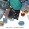 Cabochon mix, multi-gemstone / shell (natural / dyed / manmade) / glass, mixed colors, 5x2mm-44x38mm non-calibrated mixed shape. Sold per 1/4 pound pkg, approximately 95 cabochons.