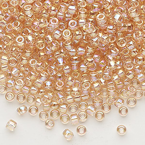 Size 8 Seed Beads - Transparent - Fire Mountain Gems and Beads